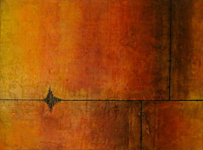Wall Art - Painting - Fracture by Michael Jewel Haley