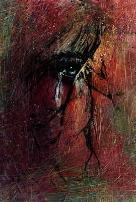 Fracture Art Print by Rachel Christine Nowicki