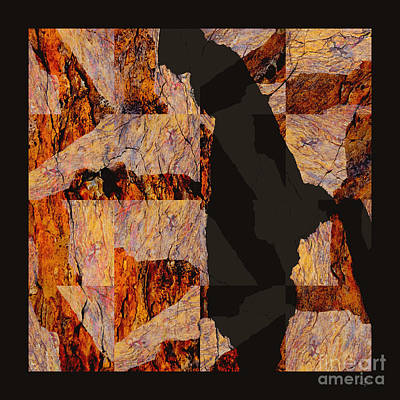 Photograph - Fractured Overlay I by Paul Davenport