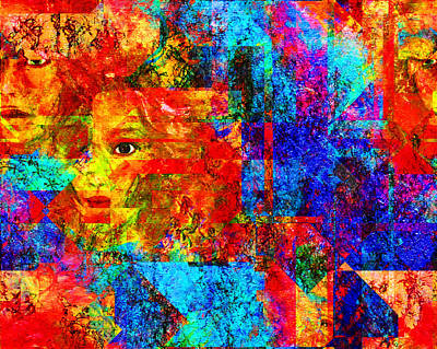 Intuitive Digital Art - Fractured by Patricia Motley