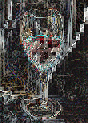 Fractured Surprise Art Print by Marie Neder