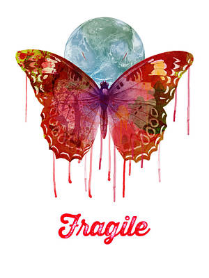 Painting - Fragile by Gary Grayson