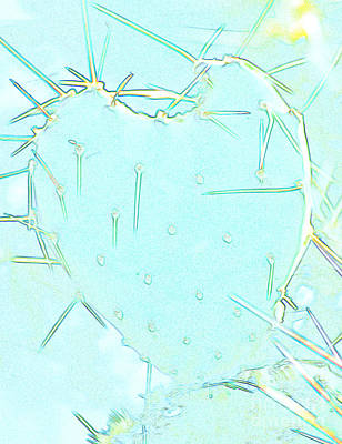 Art Print featuring the photograph Fragile Heart by Roselynne Broussard
