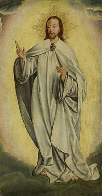 Fragment With The Transfiguration Of Christ Resurrection Art Print by Litz Collection