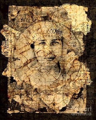 Edwardian Woman Digital Art - Fragments by Judy Wood