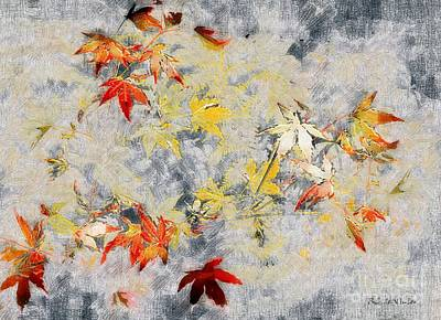 Fragments Of Fall Art Print by RC deWinter