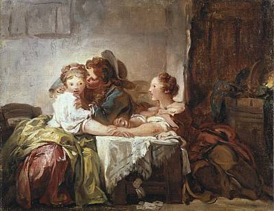 1732 Photograph - Fragonard, Jean Honor� 1732-1806 by Everett