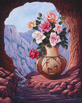 Fragrance And Dew Art Print by Ricardo Chavez-Mendez