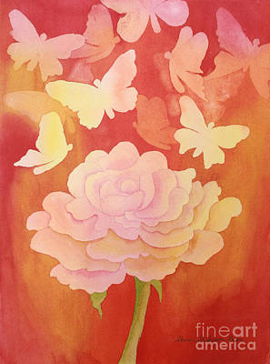 Painting - Fragrance by Shirin Shahram Badie