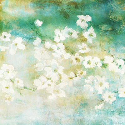 Fragrant Waters - Abstract Art Art Print