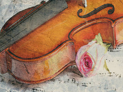 Painting - Fragrant Musik by Dennis Buckman
