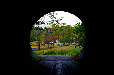 Photograph - Framed By A Tunnel by Cathy Shiflett