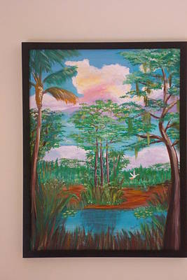 Painting - Framed By Nature by Patti Lauer