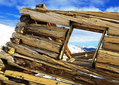 Photograph - Framed By Ruins by Nina Donner