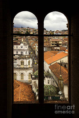 Immaculate Photograph - Framed Cuenca by Al Bourassa