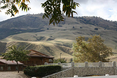 Photograph - Framed Foothill by Marsha Ingrao