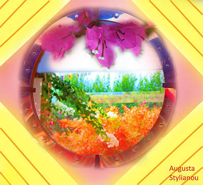 Digital Art - Framed Landscape  by Augusta Stylianou