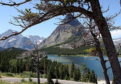Photograph - Framed Peaks by Carolyn Ardolino