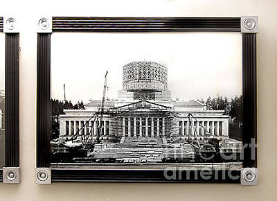 Photograph - Commission - Framed Art At Capitol Bldg by Susan Parish Designs