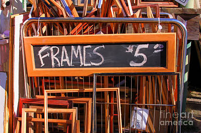 Photograph - Frames For Sale by Audreen Gieger