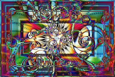 Digital Art - Framework by Kiki Art