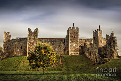 House On The Hill Photograph - Framlingham Castle by Svetlana Sewell