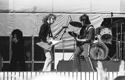 Photograph -  Jamming In Oakland 1976 by Ben Upham