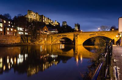 Tina Turner - Framwellgate Bridge over the River Wear at Twilight by David Head