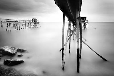Fisher Photograph - France Cabanes by Nina Papiorek