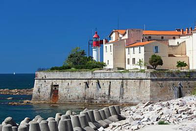 Rossi Photograph - France, Corsica, Ajaccio, Port Tino by Walter Bibikow
