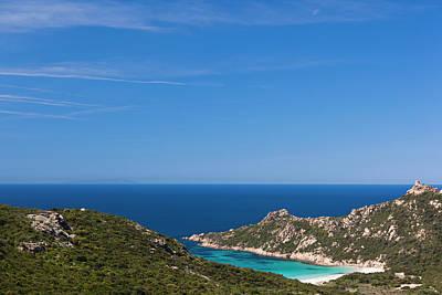 Sud Photograph - France, Corsica, Cap De Roccapina Cape by Walter Bibikow