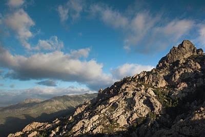 France, Corsica, La Alta Rocca, Col De Print by Walter Bibikow