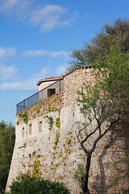 Sud Photograph - France, Corsica, Porto Vecchio, Citadel by Walter Bibikow