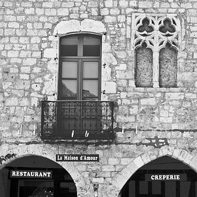 House Wall Art - Photograph - #france #french #village #house #europe by Georgia Fowler
