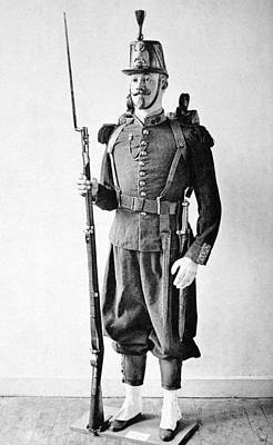 Spats Photograph - France Grenadier, 1860 by Granger