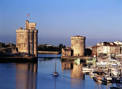 Large Format Photograph - France, La Rochelle, Vieux Port, Tour by David Barnes