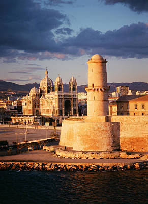 France, Marseille, View Of Marseille Art Print