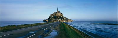 Color Guard Photograph - France, Mont Saint Michel by Panoramic Images