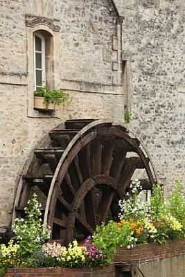 France, Normandy, Bayeux, Old Water Art Print