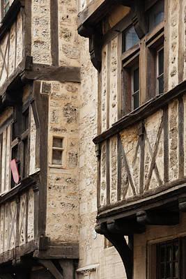 France, Normandy, Bayeux, Rue St-martin Art Print