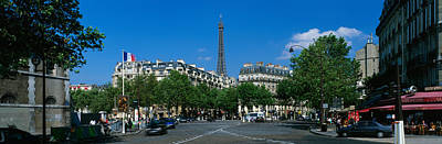 France, Paris, Avenue De Tourville Art Print