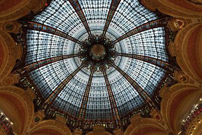 France, Paris Ceiling Of Galleries Art Print by Jaynes Gallery