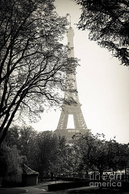 The Eiffel Tower Paris France Art Print