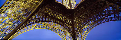 Metal Fabrication Photograph - France, Paris, Eiffel Tower by Panoramic Images