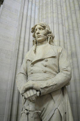 Statuary Photograph - France, Paris Pantheon Sculpture by Kevin Oke