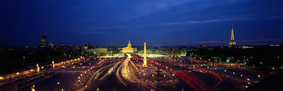 France, Paris, Place De La Concorde Art Print