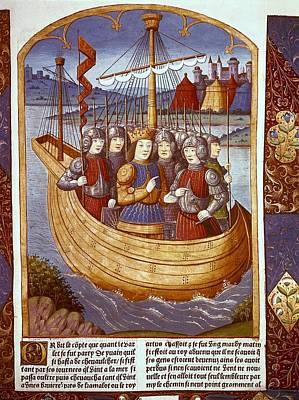 France. Paris. The King Arthur Art Print by Everett