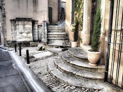 Provence Photograph - France, Provence, Bonnieux by Julie Eggers