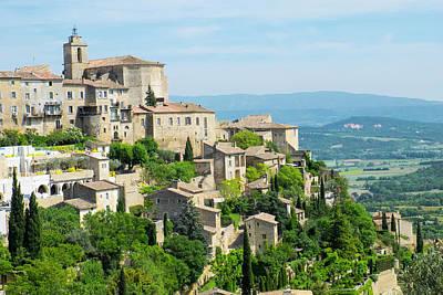 France, Provence, Luberon, Gordes Art Print
