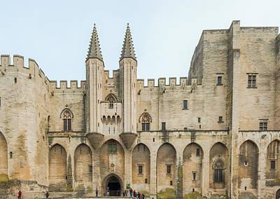 Photograph - France Provence Midi Avignon Papal Palace Palais Des Papes by Marek Poplawski